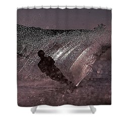 Carve Shower Curtain