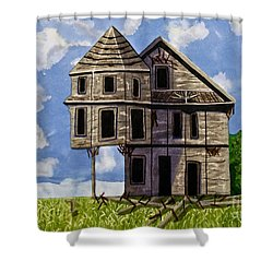 Slumber A Chance To Dream Watercolor Art Prints Shower Curtain