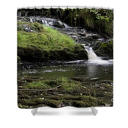 Small Falls On West Beaver Creek Shower Curtain