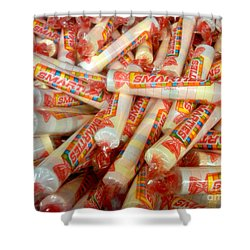 Smarties Penny Candy Shower Curtain