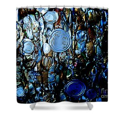 Smashed Shower Curtain