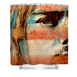 Smells Like Teen Spirit Shower Curtain by Paul Lovering