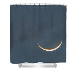 Smile In Sky Shower Curtain by Sonali Gangane