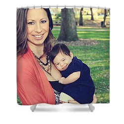 Smile Shower Curtain by Laurie Search