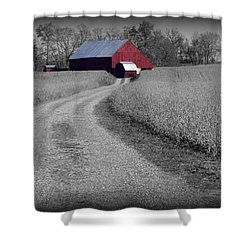 Smithsburg Barn Shower Curtain by Robert Geary