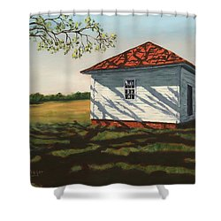 Smokehouse Shower Curtain