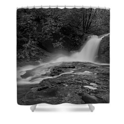 Smokey Shower Curtain by Debra and Dave Vanderlaan