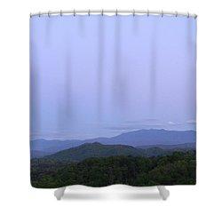 Smokies At Dusk Shower Curtain