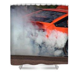 Smoking Ae86 Shower Curtain