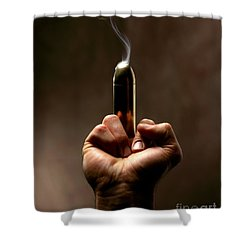 Take A Bullet ... Shower Curtain