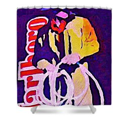 Smoking Can Be Lethal Shower Curtain by John Malone