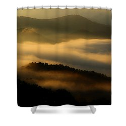 Smoky Mountain Spirits Shower Curtain by Michael Eingle