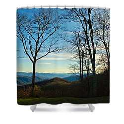 Smoky Mountain Splendor Shower Curtain
