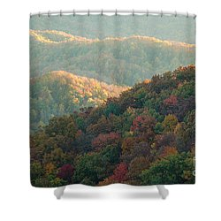 Smoky Mountain View Shower Curtain