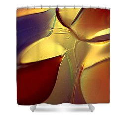 Smooth Moves Shower Curtain by Omaste Witkowski