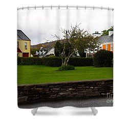 Sneem- Home Of The Blue Bull Shower Curtain