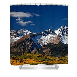 Sneffels Clearing  Shower Curtain by Darren  White