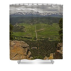 Sneffels Range Shower Curtain