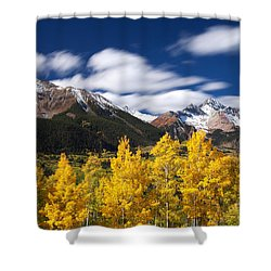 Sneffels Winds Shower Curtain by Darren  White