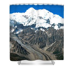 Snow Capped Canyon Shower Curtain