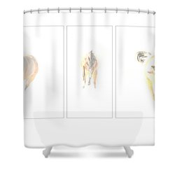Snow Dance Shower Curtain