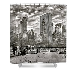 Snow In N.y. Shower Curtain