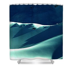 Snow Mountain In Austria  Shower Curtain by Colette V Hera  Guggenheim