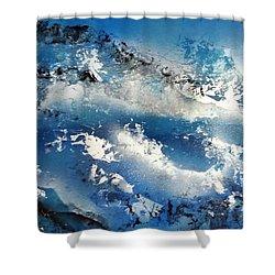 Snowcaps Shower Curtain