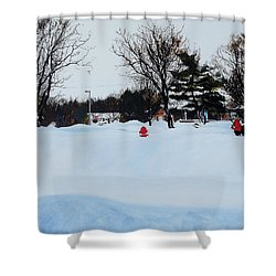 Snowed In Shower Curtain