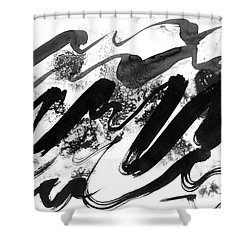 Snowy Landscape Shower Curtain by Hakon Soreide