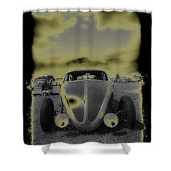 So Cal Vw Shower Curtain by Steve McKinzie