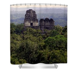 So Long Ago Shower Curtain by Karen Wiles