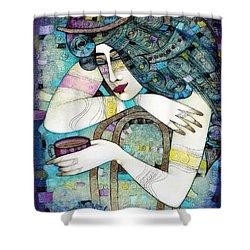 So Many Memories... Shower Curtain by Albena Vatcheva
