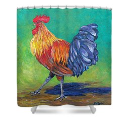 So Proud Shower Curtain by Susan DeLain