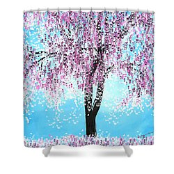 So Spring Shower Curtain