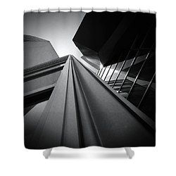 Soaring Planes Shower Curtain by Mark David Gerson