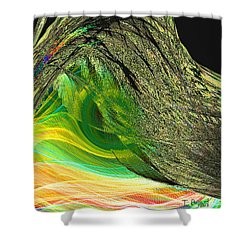 Soaring Wing Shower Curtain by Thomas Bryant
