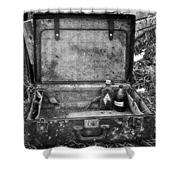 Sober Travels  Shower Curtain by Jerry Cordeiro