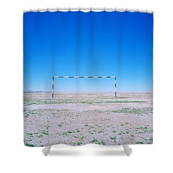 Field Of Dreams Shower Curtain by Shaun Higson