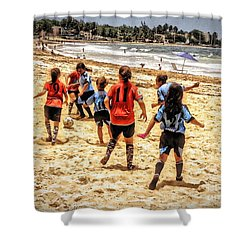 Soccer Tournament Shower Curtain