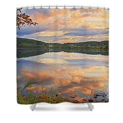 Shower Curtain featuring the photograph Soddy Lake by Geraldine DeBoer