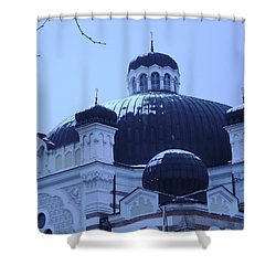 Sofia Synagogue In Bulgaria Shower Curtain