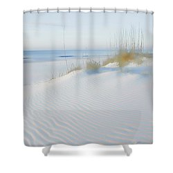 Soft Sandy Beach Shower Curtain