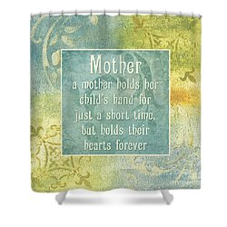 Soft Spa Mother's Day 1 Shower Curtain by Debbie DeWitt