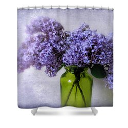 Soft Spoken Shower Curtain by Jessica Jenney