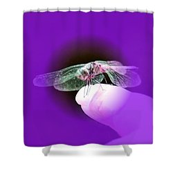 Soft Touch Shower Curtain by Barbara S Nickerson