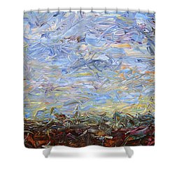 Soil Tumoil 2 Shower Curtain by James W Johnson