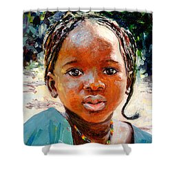 Sokoro Shower Curtain by Tilly Willis