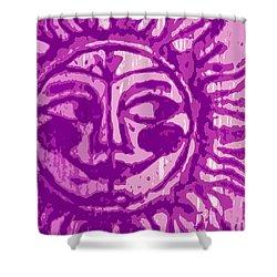 Sol - Fuschia Shower Curtain