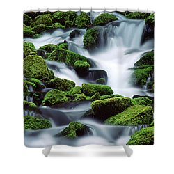 Sol Duc Shower Curtain